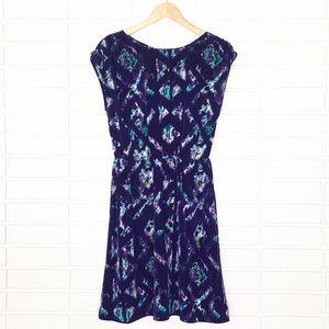 NAME YOUR PRICE! Mossimo | Purple/Teal Print Dress